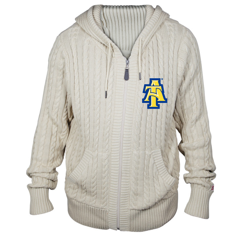 North Carolina A&T State University Kyle Hooded Sweater**ALL SALES FINAL**