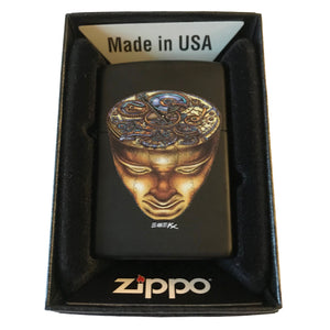 Doomsday Head Zippo Lighter