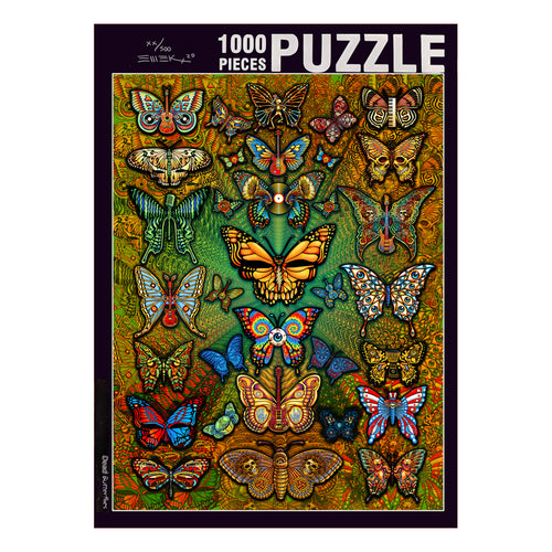 Dead Butterfly Puzzle - Limited Edition of 500