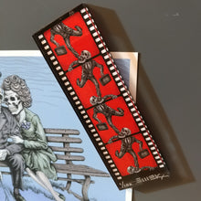 """Infinite Filmstrip, Endless Cycle"" (Consuming Man) Acrylic Magnet - Signed and Numbered Edition of 100"