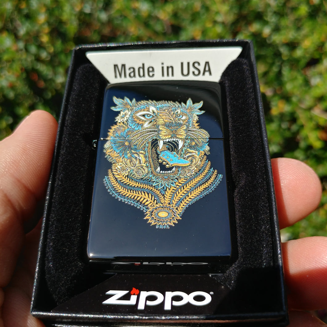 Carnival Tiger Zippo - Limited Edition 100