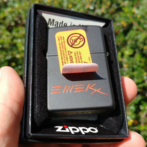 Eternal Embrace Zippo Lighter - Black