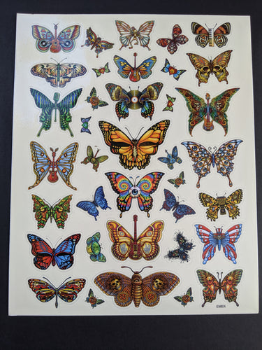 Butterfly Sticker Sheet - 8