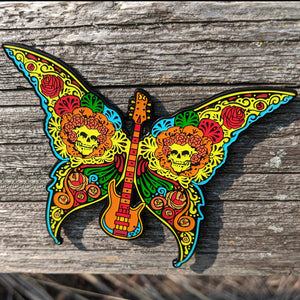 Dead Butterfly Pin (Guitar) - Open Edition