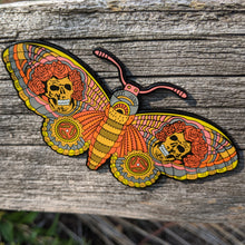 Dead Butterfly Pin (Rose Skulls) - Open Edition