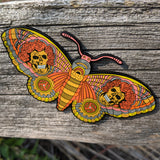 All 6 Open Edition XL Dead Butterfly Pins + Free Secret 7th Pin