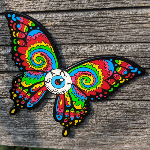 Dead Butterfly Pin (Eye ball) - Open Edition