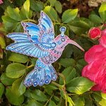 EMEK x BIOWORKZ Hummingbird Pin - Quartz Variant- Open Edition