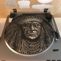 Native American Chief Slip Mat