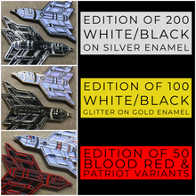 """Endless War"" Enamel Pins - Matching #'s Set of 6"