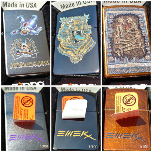 Zippo Lighters - Matching Number Set