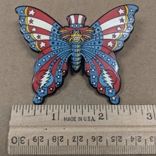 Dead Butterfly Pin (Uncle Sam) - Open Edition