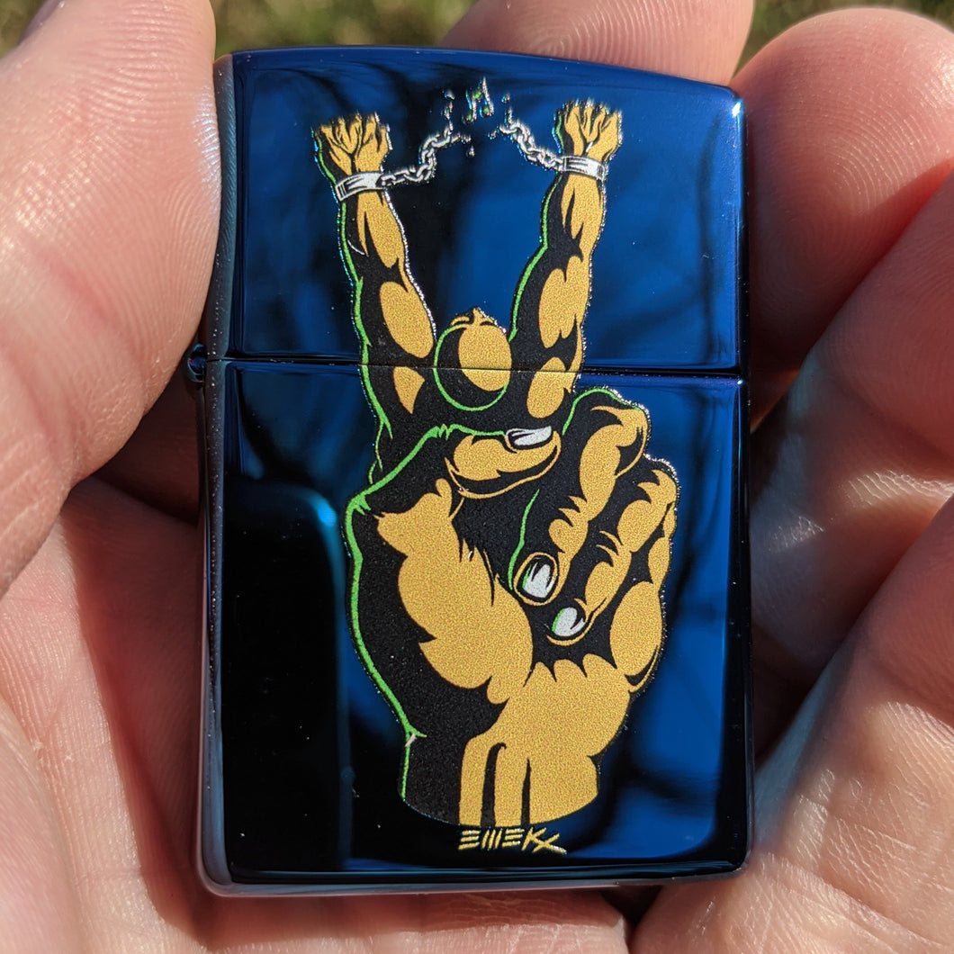 Peace Guy Zippo Limited Edition 100