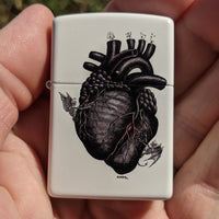 Black Heart Zippo Limited Edition 100