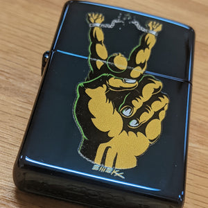 Zippo 4 Pack - Peace Guy, Black Heart, Jellyfish and Balloon Boy