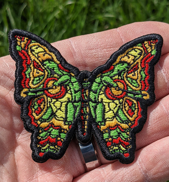 Turtles Dead Butterfly Patch - Open Edition