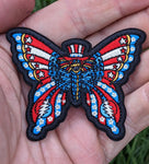 Uncle Sam Dead Butterfly Patch - Open Edition