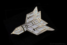 """Endless War"" Enamel Pins - Matching #'s Set of 4 (White/Black and Glitters)"