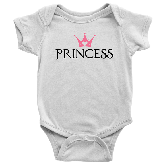 Princess Add on Shirt/Baby onesie for Queen Royal Staff and Princess set - Kennie Blossoms