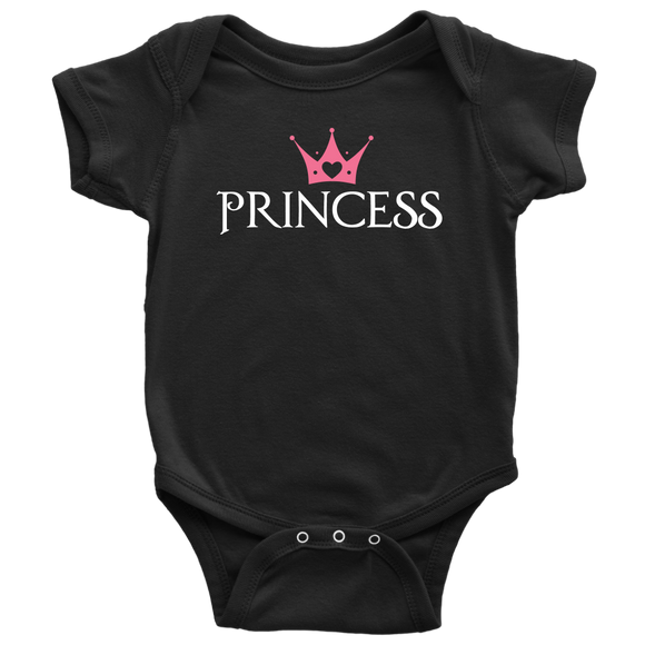 Add on Shirt for Mother Daughter Princess and Queen Royal Staff Set Black - Kennie Blossoms