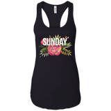 Sunday Racerback Tank Top - Kennie Blossoms