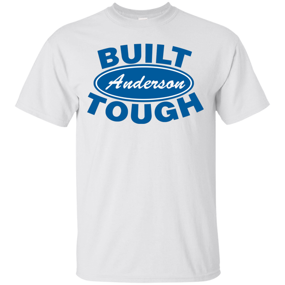 Built Tough Shirt for Truck Lover's - Custom Shirt with YOUR last name - Kennie Blossoms
