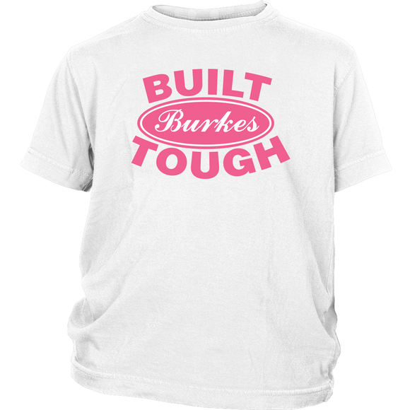 Built Tough Personalized shirt for girls who love cars - Kennie Blossoms