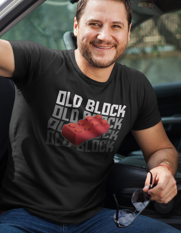 Old Block Dad Shirt - Add on for Chip off the Old Block set - Kennie Blossoms
