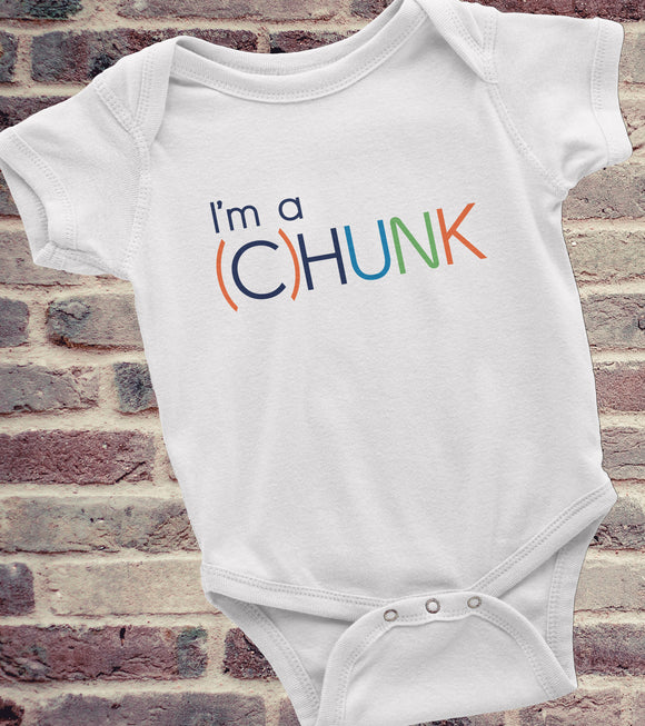 Funny Onesie – I'm a (C)HUNK, Cute Baby Clothes, Funny Baby Clothes, Funny Baby Shirt, Baby Boy Clothes, Chunky Baby Clothes - Kennie Blossoms