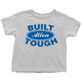 Built Tough Personalized Toddler Shirt - Kennie Blossoms