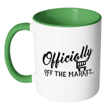 Officially off the Market Mug, Bachelor Gift, Bride to Be Mug, Engagement Mug, Fiancee gift - Kennie Blossoms