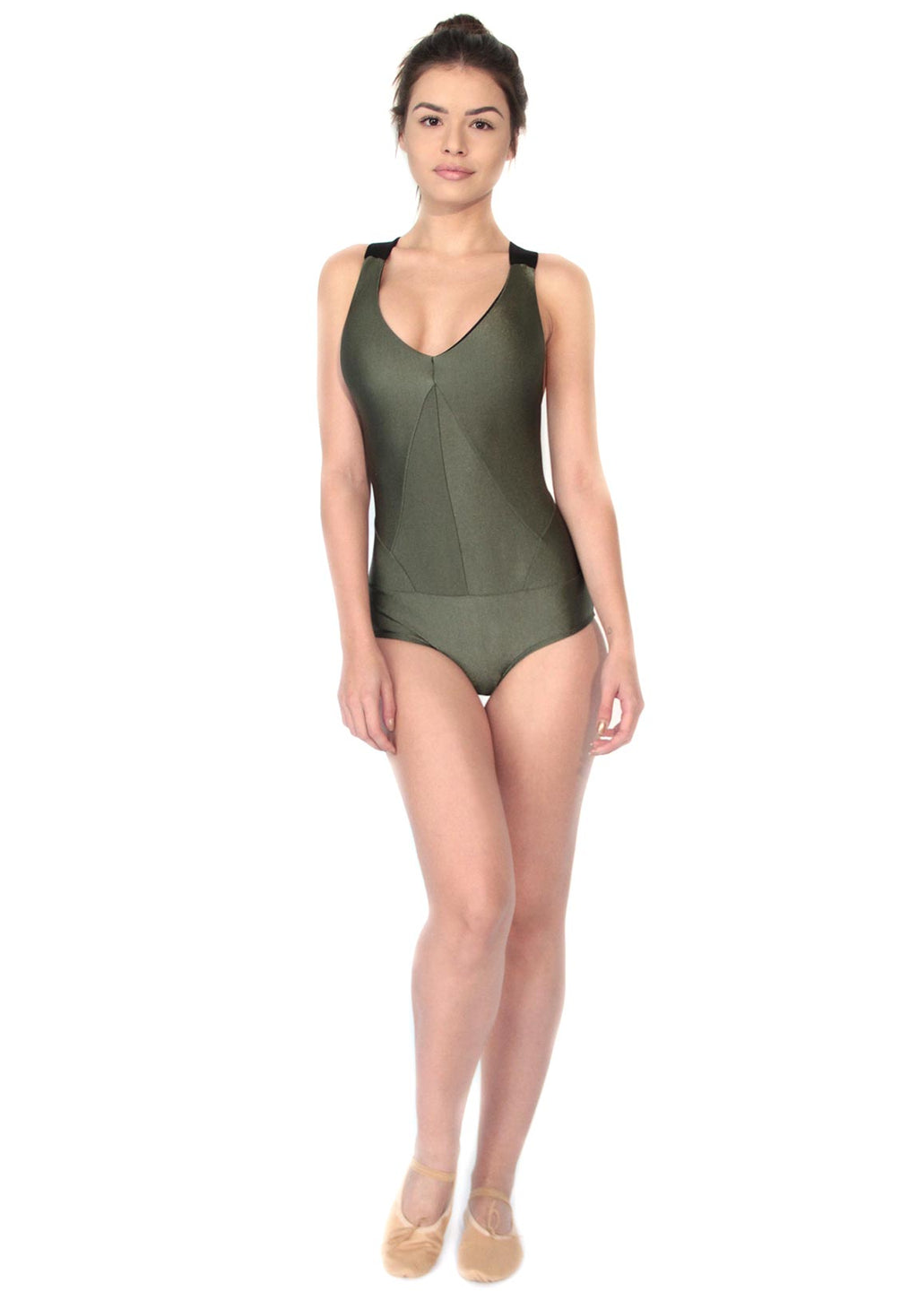 Collant Verde Militar Elle 2Peace2Dance