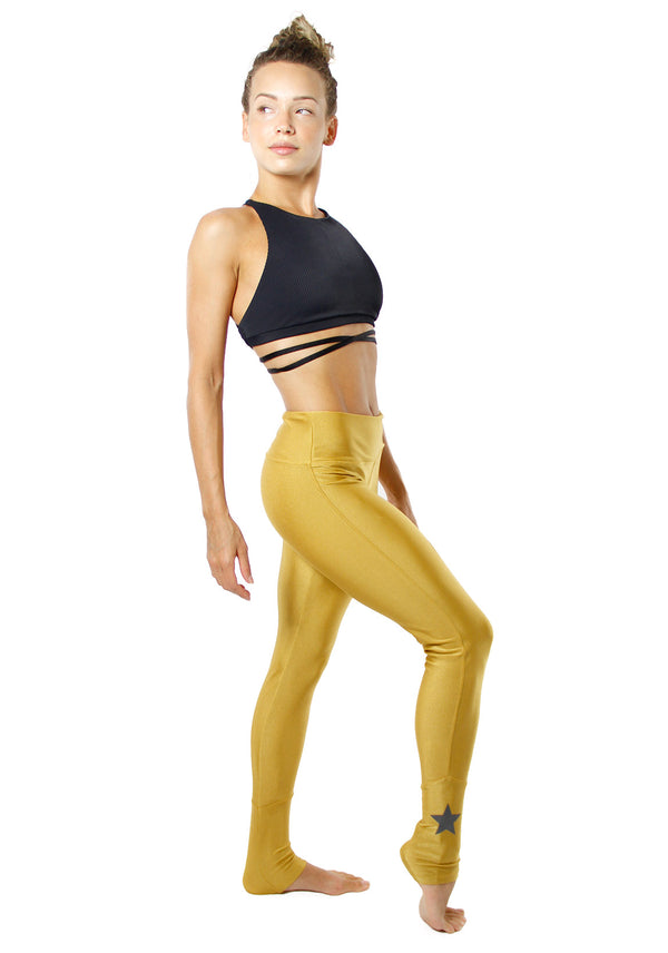 Legging Shine Star Ouro