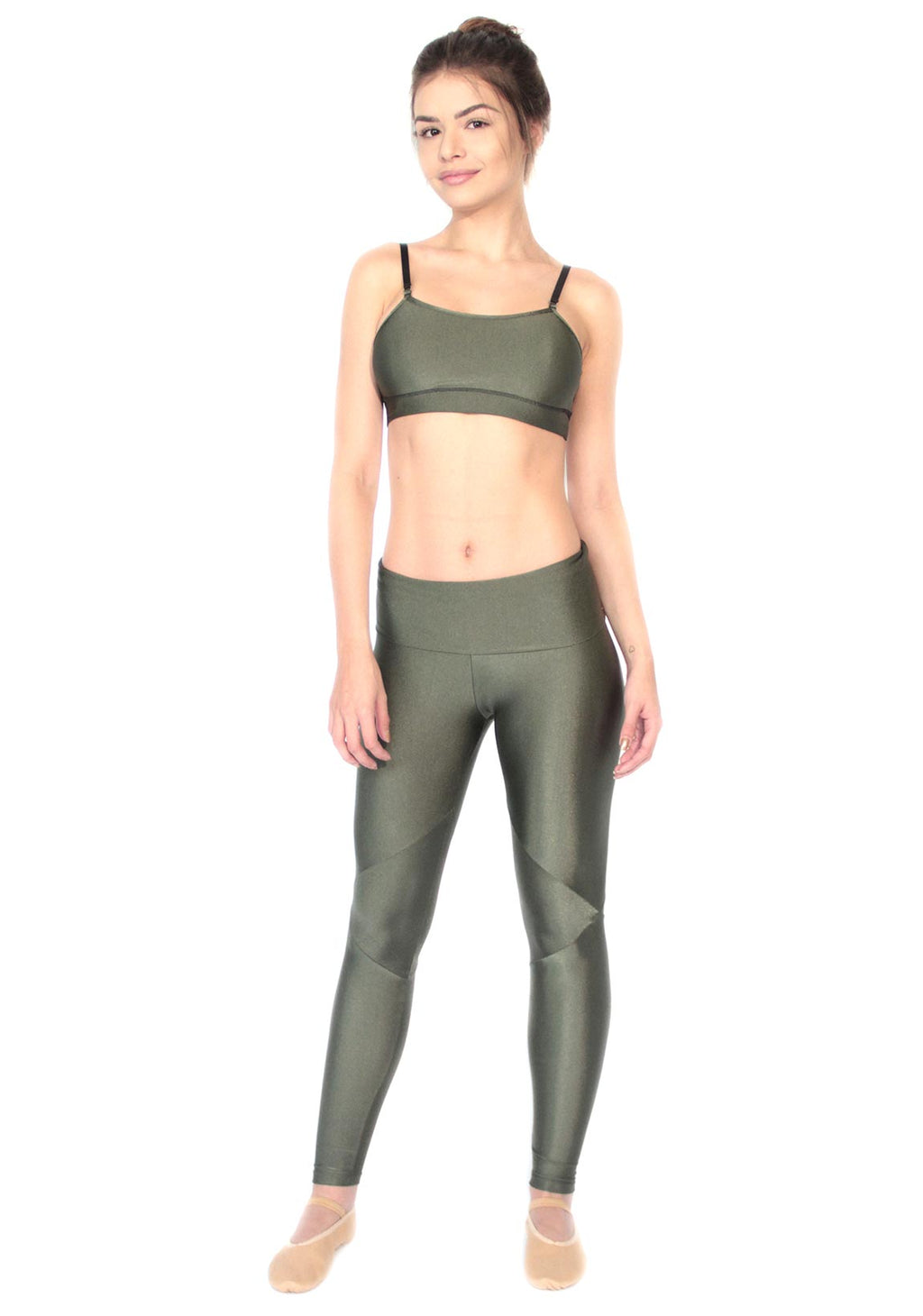 Top Verde Militar Colors 2Peace2Dance