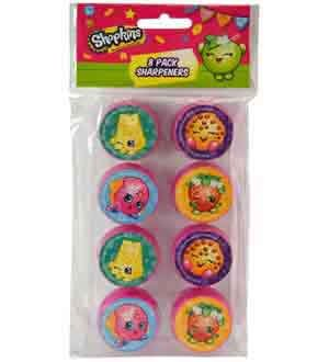 Shopkins Sharpener 8ct [Contains 6 Manufacturer Retail Unit(s) Per Amazon Combined Package Sales Unit] - SKU# 3814SD