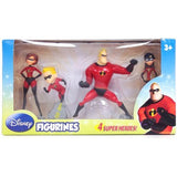 Cactus Game Design DCF11342 The Incredibles 4 Pack