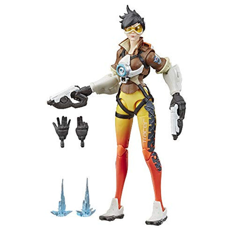 "Hasbro Overwatch Ultimates Series Tracer 6"" Collectible Action Figure"
