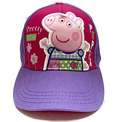 "Peppa Pig Purple ""Pretty Little"" Baseball Cap"
