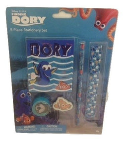 Disney Pixar Finding Dory 5 Piece Stationery Set