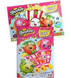 Shopkins Giant Coloring Activity Book 4 Pack