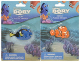Finding Dory Molded Dory & Nemo Puzzle Eraser Toy Figure Set - 2 Pack