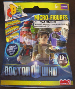 1 Pack - Doctor Who Micro-Figures with Display Base (Collect All 10)