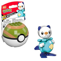 Mega Construx Pokemon Oshawott Construction Set, Building Toys for Kids