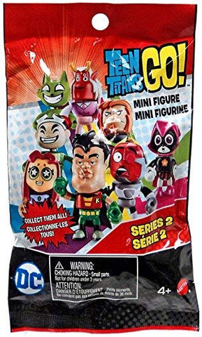 Teen titans go! Mini figure mini figurine series 2