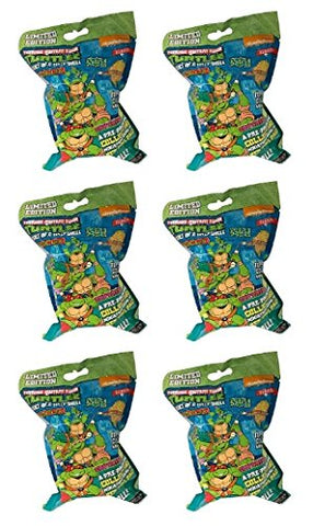 6 ( Six) TMNT HeroClix: Heroes In A Half Shell Single Figure Booster ( X6 )