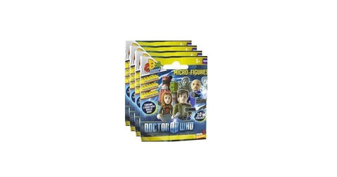 Doctor Who Character Building - Micro Figure Foil (4 Pack)