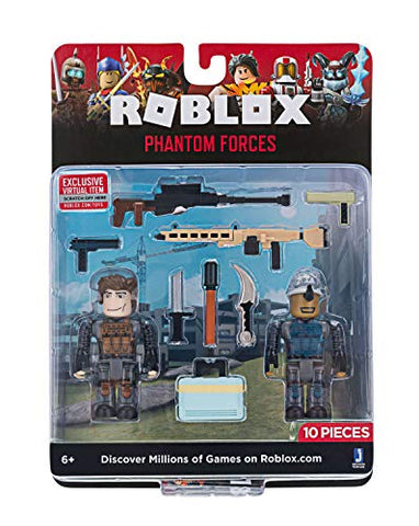 Roblox Action Collection - Phantom Forces Game Pack [Includes Exclusive Virtual Item]