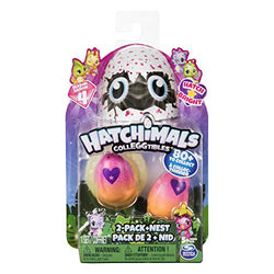 Hatchimals Colleggtibles Season 4 Hatch Bright Mystery 2-Pack with Nest
