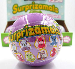 Surprizamals, Mystery Balls with Collectible Plush Toy, 2 Pack Series 2