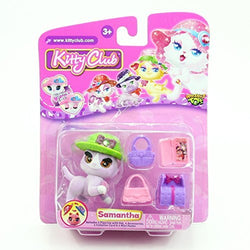 SAMANTHA Kitty Club 2016 Whatnot Toys Single Figurine & Accessories Pack by Kitty Club